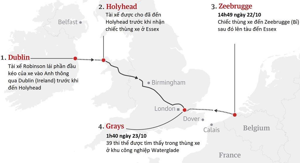 Tiết lộ gây sốc của kẻ buôn người vào Anh