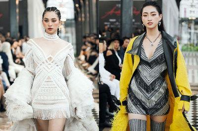 Tiểu Vy, Lương Thuỳ Linh gây chú ý ở SaPa