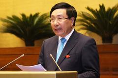 QH nghe Phó Thủ tướng báo cáo công tác đối ngoại của Nhà nước