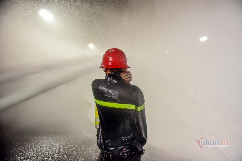 hầm thủ thiêm,phòng cháy chữa cháy,tai nạn,tai nạn giao thông