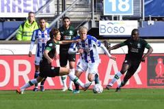 Văn Hậu bị bỏ rơi, Heerenveen mất điểm trên sân nhà
