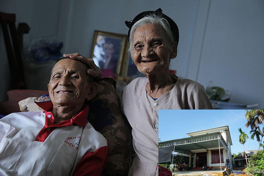 Hai cụ già ở Hà Tĩnh quyết tâm làm đơn xin thoát nghèo