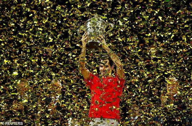 Federer đoạt danh hiệu ATP thứ 103 trong sự nghiệp