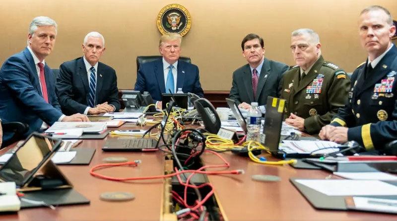 Khung cảnh 'nát như tương' sau khi Mỹ ra tay diệt trùm IS