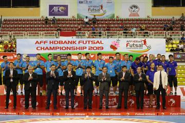Thái Lan lên ngôi vô địch Giải Futsal HDBank Đông Nam Á 2019