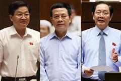 Đề xuất chất vấn các bộ trưởng về bổ nhiệm cán bộ, mạng xã hội, xử lý tham nhũng