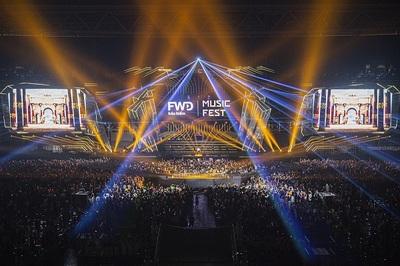 Gần 40.000 khán giả 'cháy' cùng FWD Music Fest