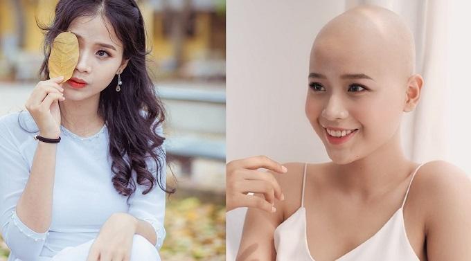 Cô gái vượt bạo bệnh đi thi Hoa khôi Ngoại thương