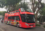 Hanoi adds more stops to double-decker bus tour