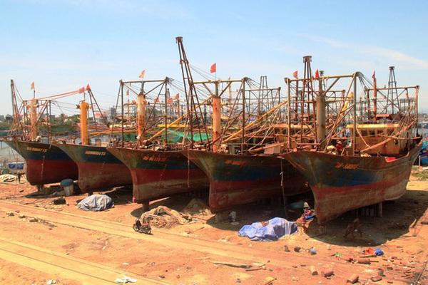 Ngân hàng kiện ngư dân tàu vỏ thép ở Bình Định vì nợ đầm đìa