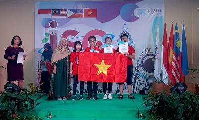 Vietnamese students enjoy big wins at International Science Competition