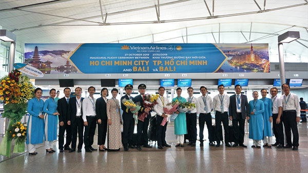 Vietnam Airlines opens HCM City-Bali route