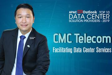 CMC Telecom nhận giải Top 10 nhà cung cấp Data Center khu vực APAC