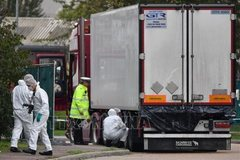 Police take DNA from relatives of potential truck victims in UK