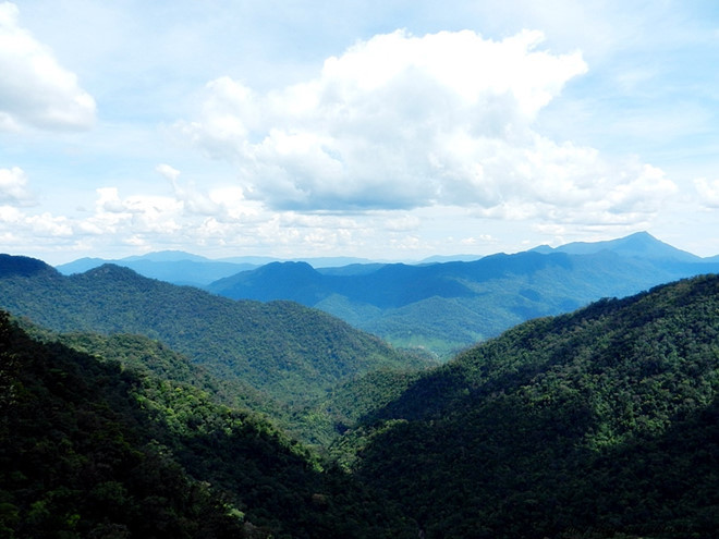 Touch the clouds at Bach Ma Mountain