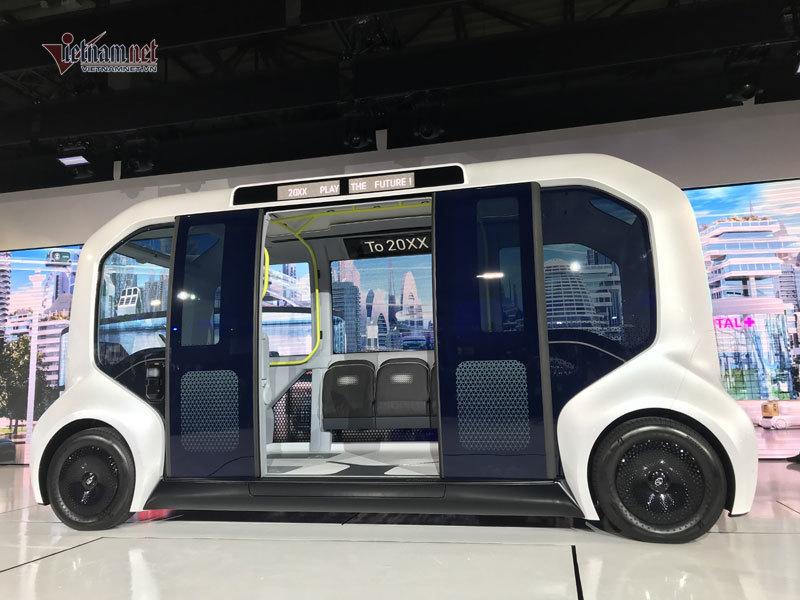 Hình dáng không tưởng của ô tô tương lai lần đầu ra mắt