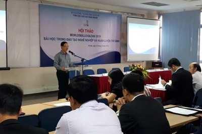 Tổ chức hội thi tay nghề để chuẩn bị cho nghề mới, mô hình đào tạo mới