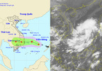 Bão đổ bộ vào đất liền khu vực Bình Định - Ninh Thuận
