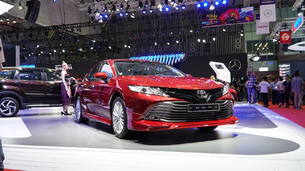 Toyota Việt Nam truyền tải thông điệp 'Sống chất lượng' ở triển lãm ô tô