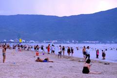 Trưởng công an xã ở Nghệ An chết đuối lúc tắm biển Đà Nẵng