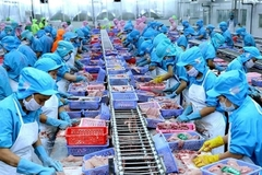 Vietnamese seafood firms' profits drag on weak exports