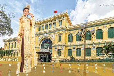 Bộ lịch 2020 quy tụ 12 mỹ nhân showbiz từ diễn viên đến ca sĩ, hoa hậu