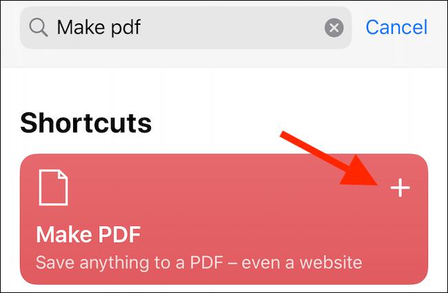 Các cách chuyển trang web thành file PDF trên iPhone và iPad