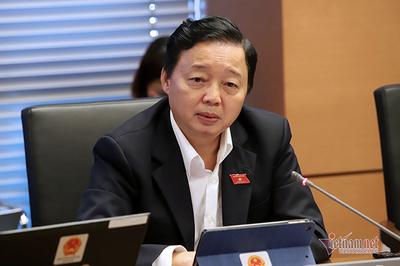 Bộ trưởng Trần Hồng Hà muốn chuyển ghế QH cho đại biểu chuyên trách