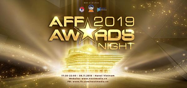 Lễ trao giải AFF Awards Night 2019 được tổ chức ở Hà Nội