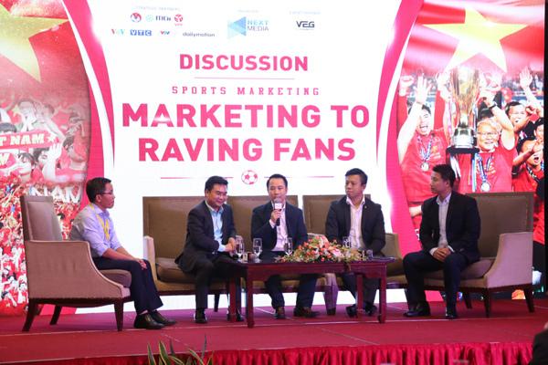 giải thể thao,marketing tại giải đấu
