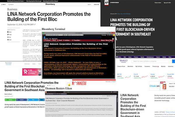 Tập đoàn LINA Network thúc đẩy xây dựng chính phủ điện tử ở châu Á
