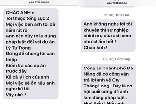 Tổng cục 2 điều tra vụ giám đốc ban quản lý dự án ở Đà Nẵng bị đe dọa