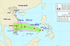 Tropical depression in East Sea likely to become storm in 24 hours