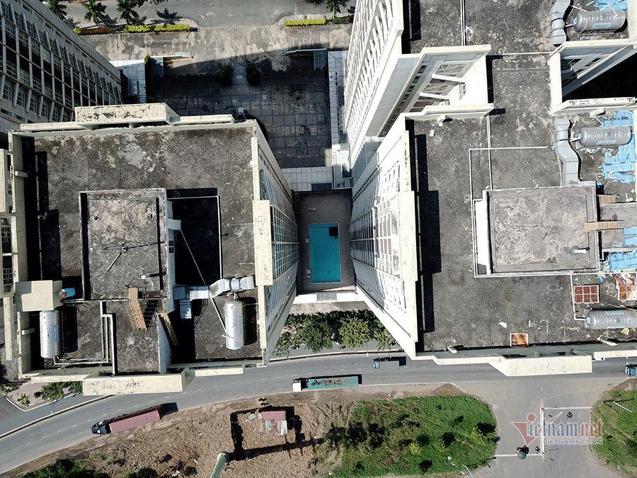 Cải tạo từ chung cư, bệnh viện Quốc tế 500 giường bỏ hoang ở Sài Gòn