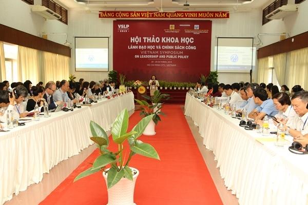 Hội thảo khoa học quốc tế 'Lãnh đạo học và chính sách công'