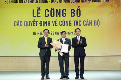 Bổ nhiệm Chủ tịch Tổng công ty Bưu điện Việt Nam