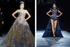 Lương Thùy Linh mở màn, Hoàng Thùy  kết màn ấn tượng ở Tuần lễ thời trang
