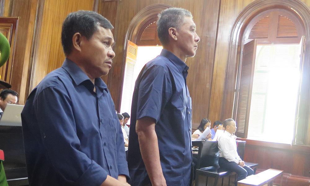 Vũ 'nhôm' gỡ tội giùm, 2 kẻ lừa đảo vẫn bị đề nghị án nặng