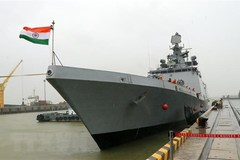 Indian naval ship visits Da Nang city
