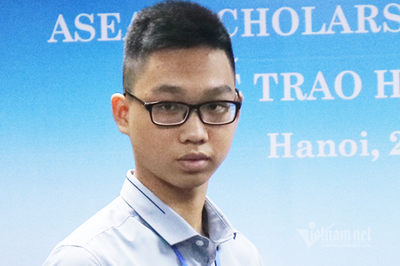 Nam sinh học gần nhà, mê thể thao trúng học bổng lớp 10 ASEAN