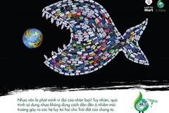 Tái chế 24.534 sản phẩm rác nhựa thành tác phẩm nghệ thuật