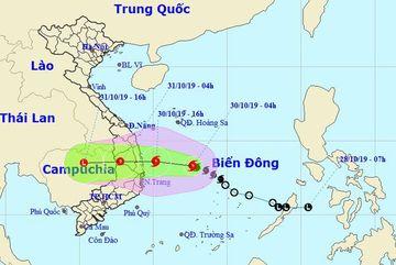 Storm Matmo to hit Vietnam today