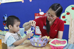 HCM City lacks teachers for students with disabilities