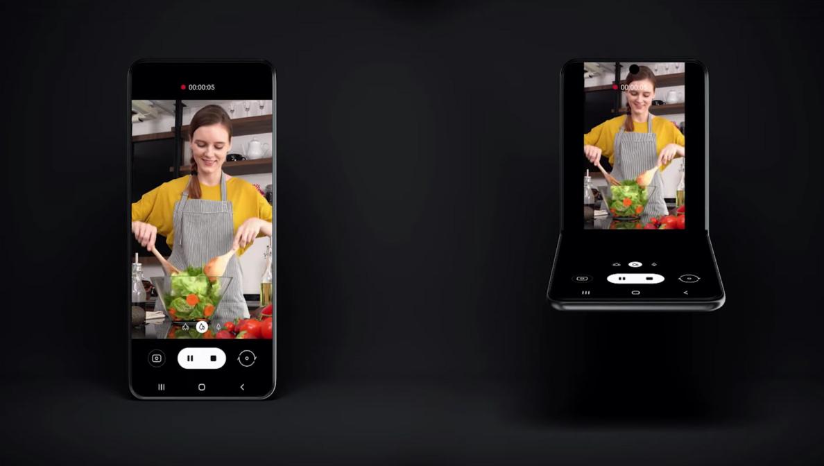 Samsung tung video khoe mẫu smatrphone màn hình gập 'lạ'