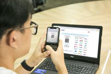 Đã có thể quét mã VNPAY-QR trên ví điện tử VinID Pay