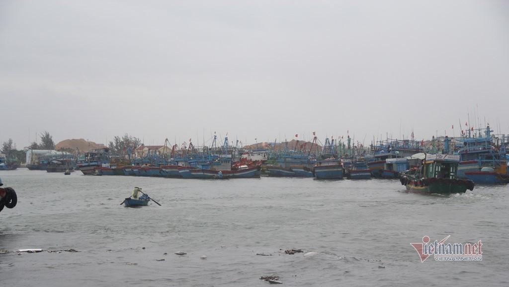 Bão giật cấp 12 tiến gần Bình Định - Khánh Hòa
