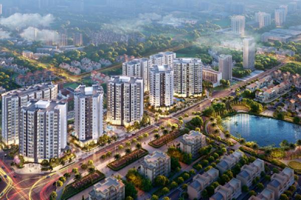 Mở bán Le Grand Jardin - 'Thành phố chuẩn sống chất' tại phía Đông Hà Nội