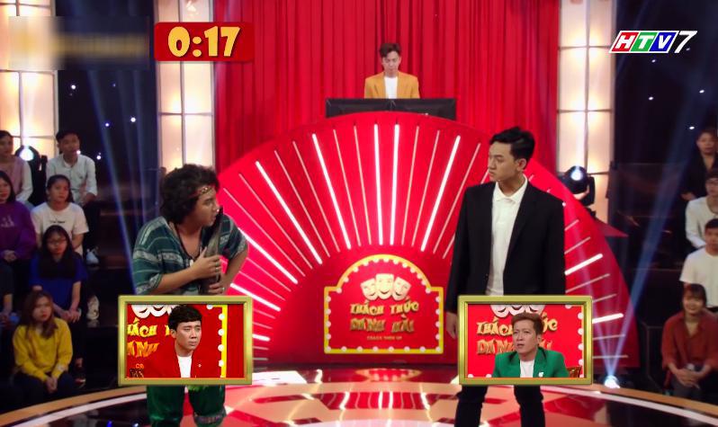 Trấn Thành đơ người khi bị hỏi 'Hari Won là bồ của ai?'
