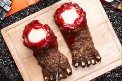 Mẹo làm thịt lợn nướng bọc hạt óc chó