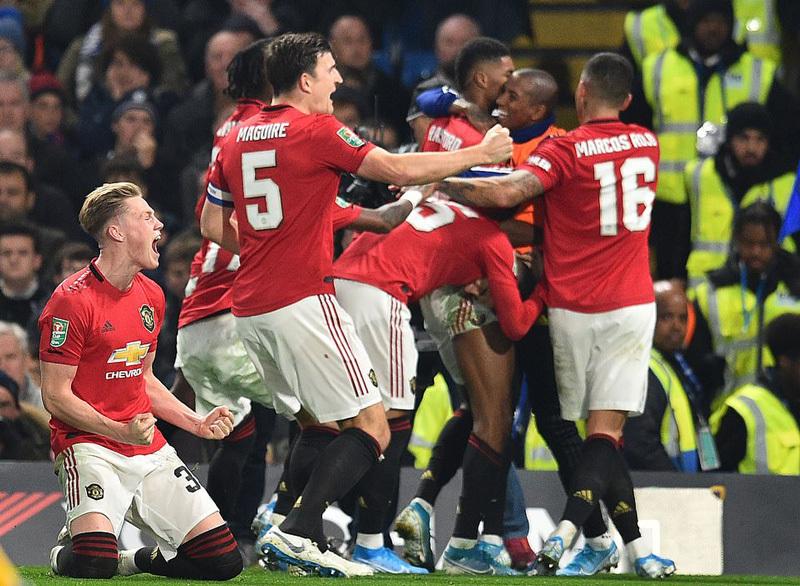 MU gặp đối thủ dễ thở ở tứ kết cúp Liên đoàn Anh